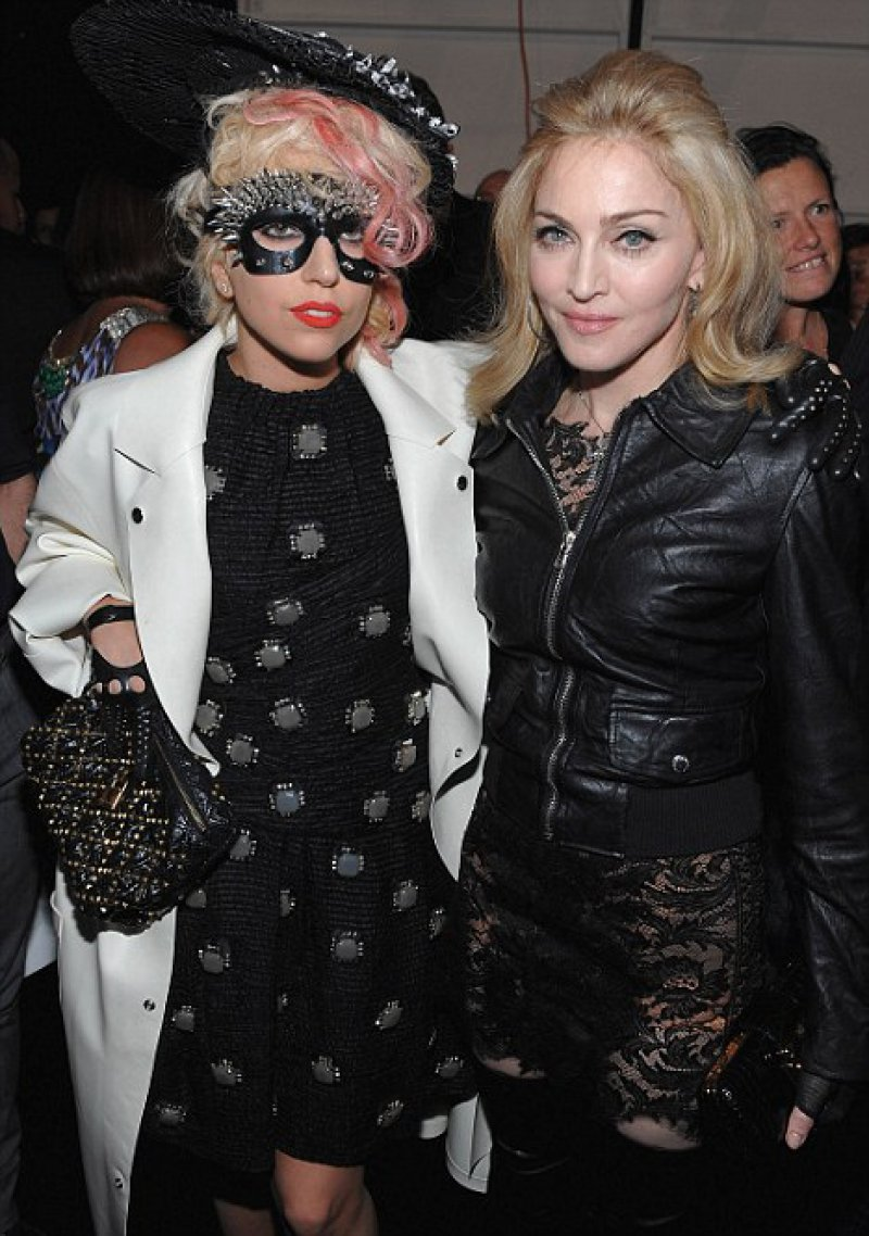 Lady Gaga And Madonna-12 Celebrity Cousins You Probably Didn't Know About