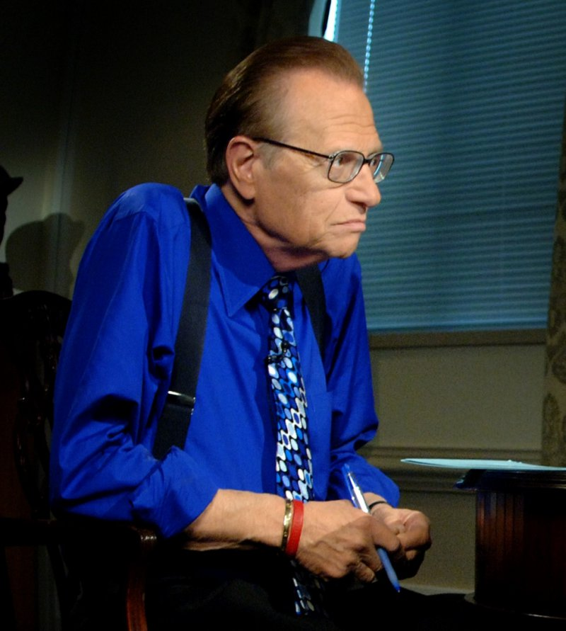 Larry King-12 Celebrities You Probably Don't Know Have Diabetes