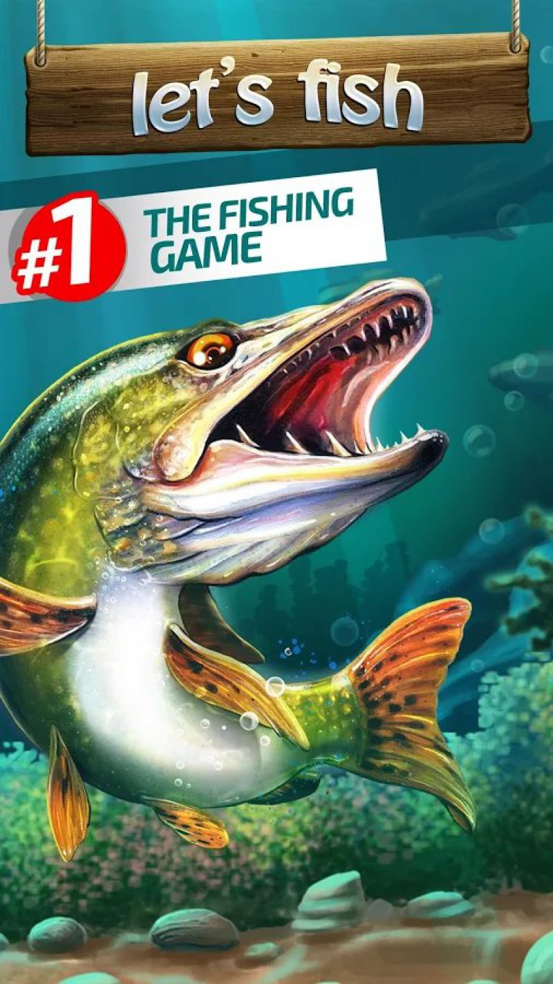 Let's Fish: Sport Fishing Game-12 Top Fishing Games For Mobile