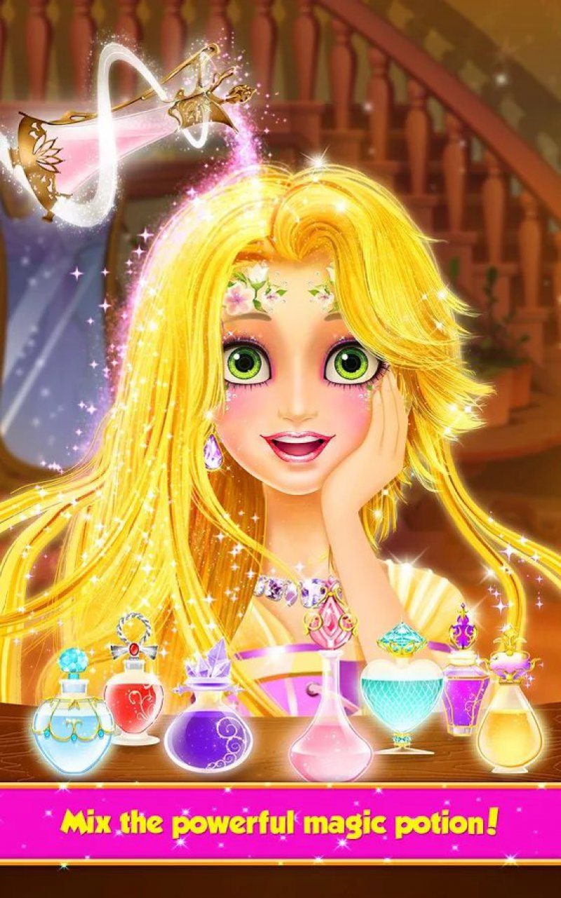 Long Hair Princess Hair Salon-15 Best Dress-up Games For Girls On Mobile