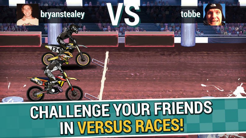 Mad Skills Motocross 2-15 Best Bike Riding Games For Your Mobile