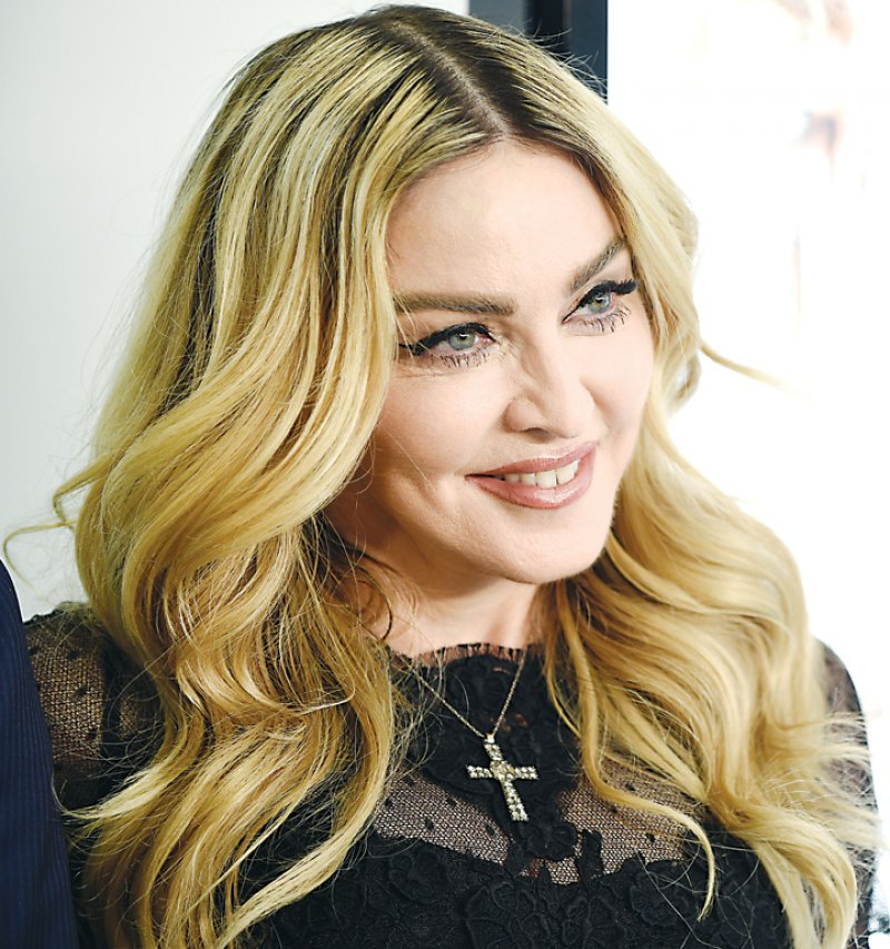Madonna-12 Famous Blondes In Hollywood
