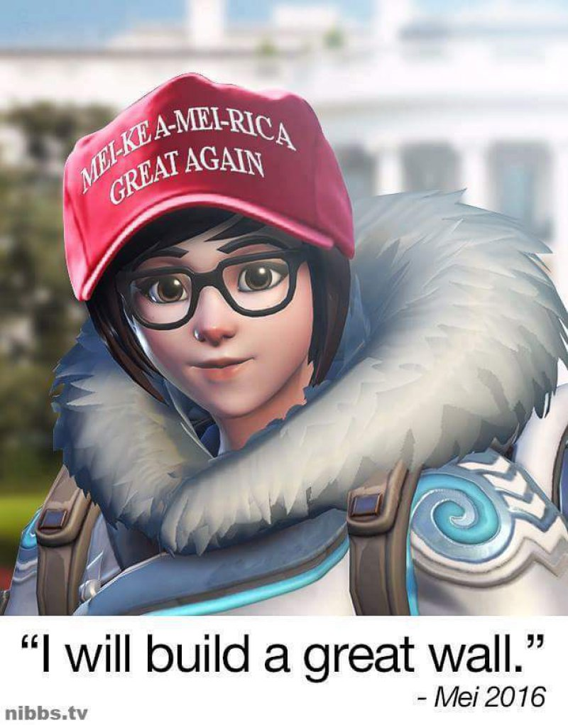 Make America Great Again!-12 Hilarious Overwatch Memes That Are Sure To Make You Lol