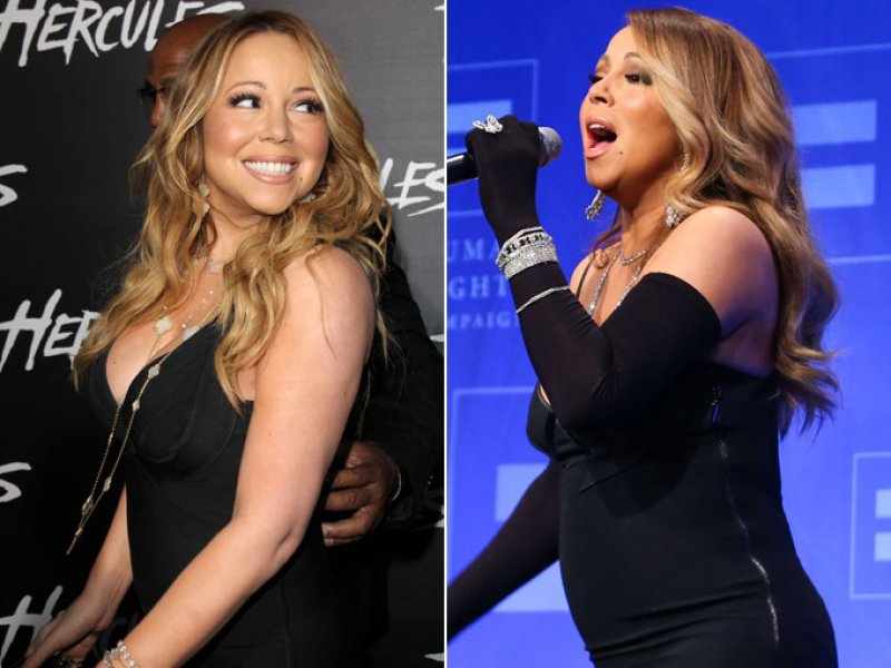 Mariah Carey-12 Celebrities Who Got Fat