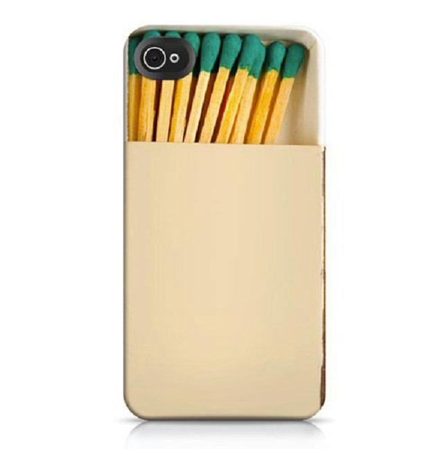 Match box-Top 15 Craziest IPhone Cases