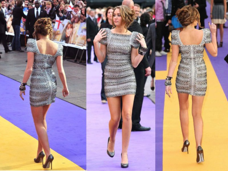 Miley Cyrus's Legs And Feet-23 Sexiest Celebrity Legs And Feet