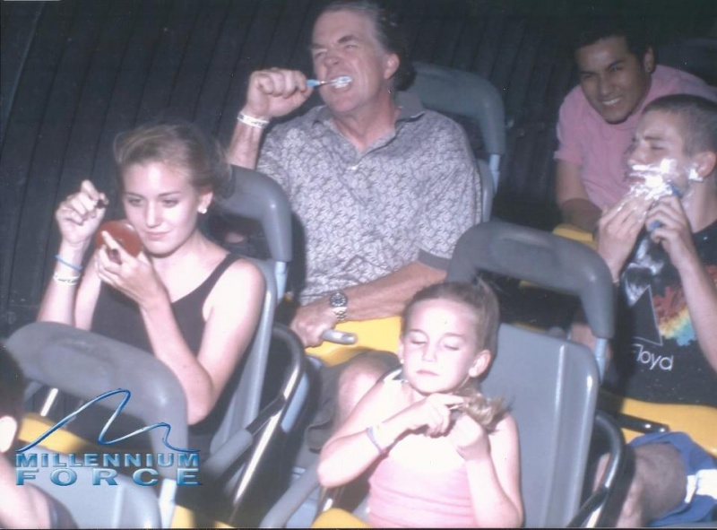 Morning Routine-12 Funniest Rollercoaster Pictures