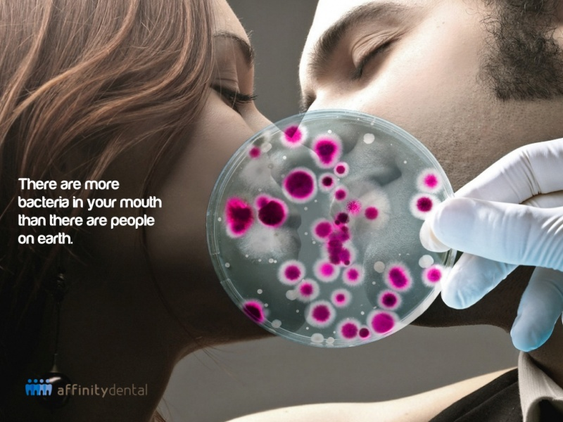 Mouth Bacteria-15 Mind Blowing Facts About Kissing