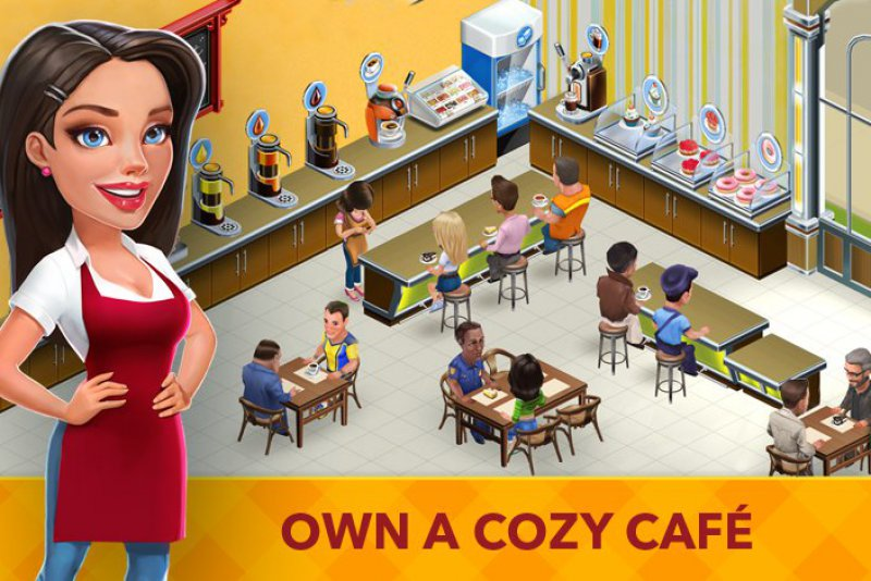 My Cafe: Recipes And Stories-12 Best Restaurant Games For IOS And Android