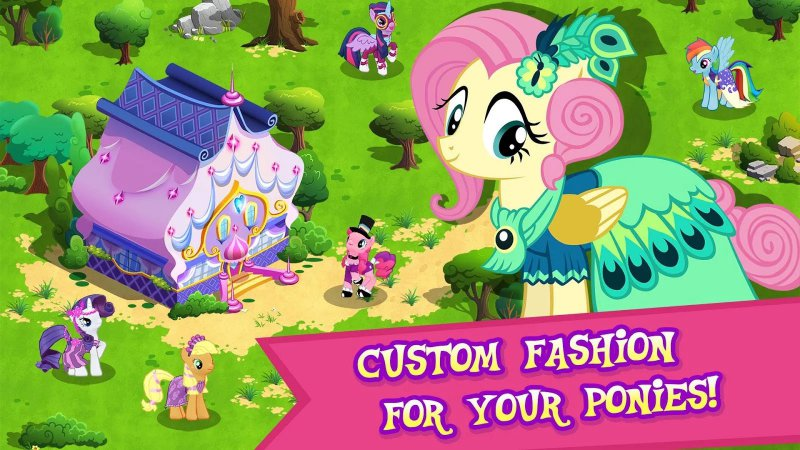 My Little Pony-12 Best Virtual Pet Games For Mobile
