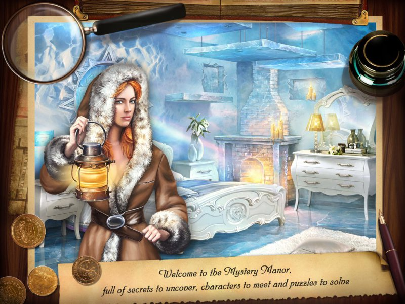 Mystery Manor-12 Best Hidden Object Games For IOS And Android