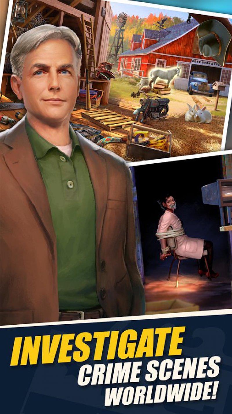 NCIS: Hidden Crimes-12 Best Crime Investigation Games For Mobile