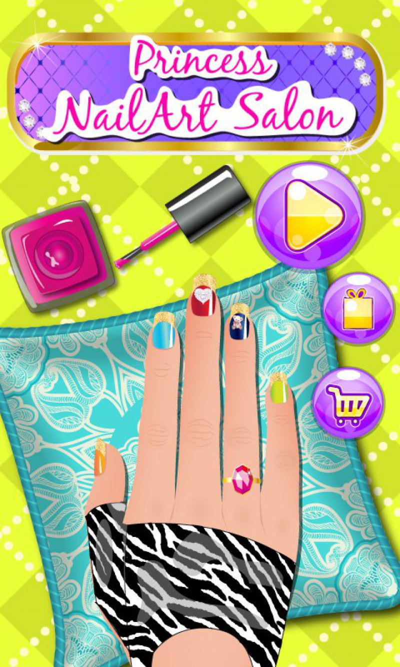 Nail Art Dress Up-15 Best Dress-up Games For Girls On Mobile