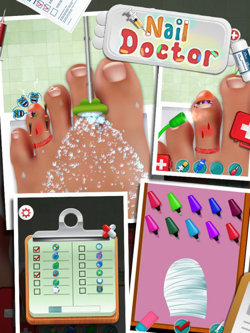 Nail Doctor-15 Best Surgery Games For IOS And Android
