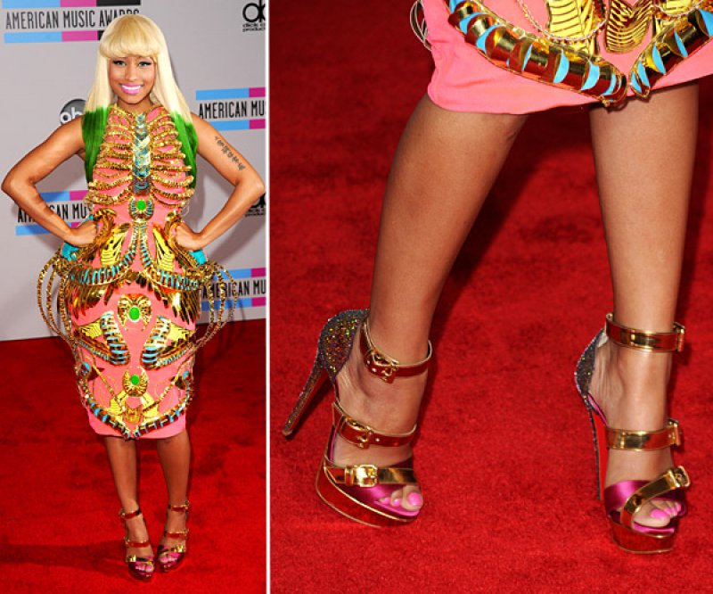 Nicki Minaj's Legs And Feet-23 Sexiest Celebrity Legs And Feet