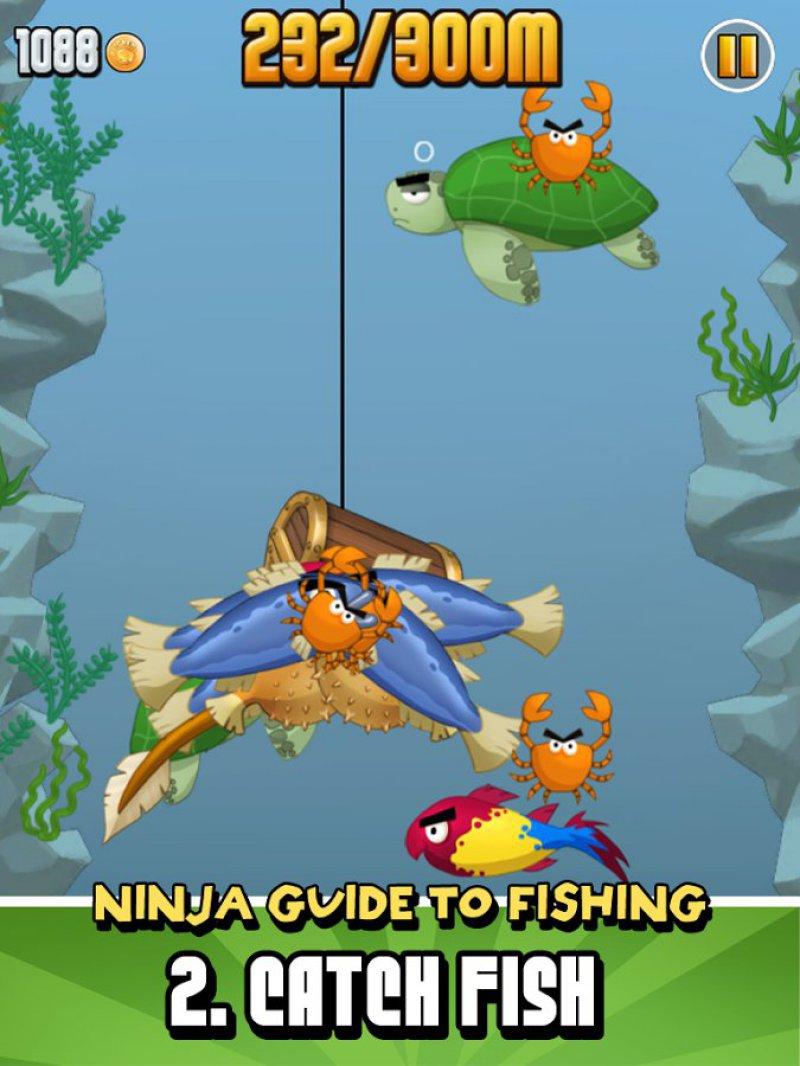 Ninja Fishing-12 Top Fishing Games For Mobile