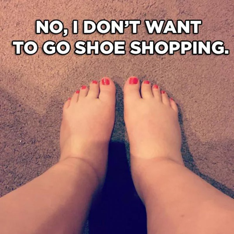 No, I Don't Want To Go Shoe Shopping!-12 Hilarious Pregnancy Memes That Will Make Your Day