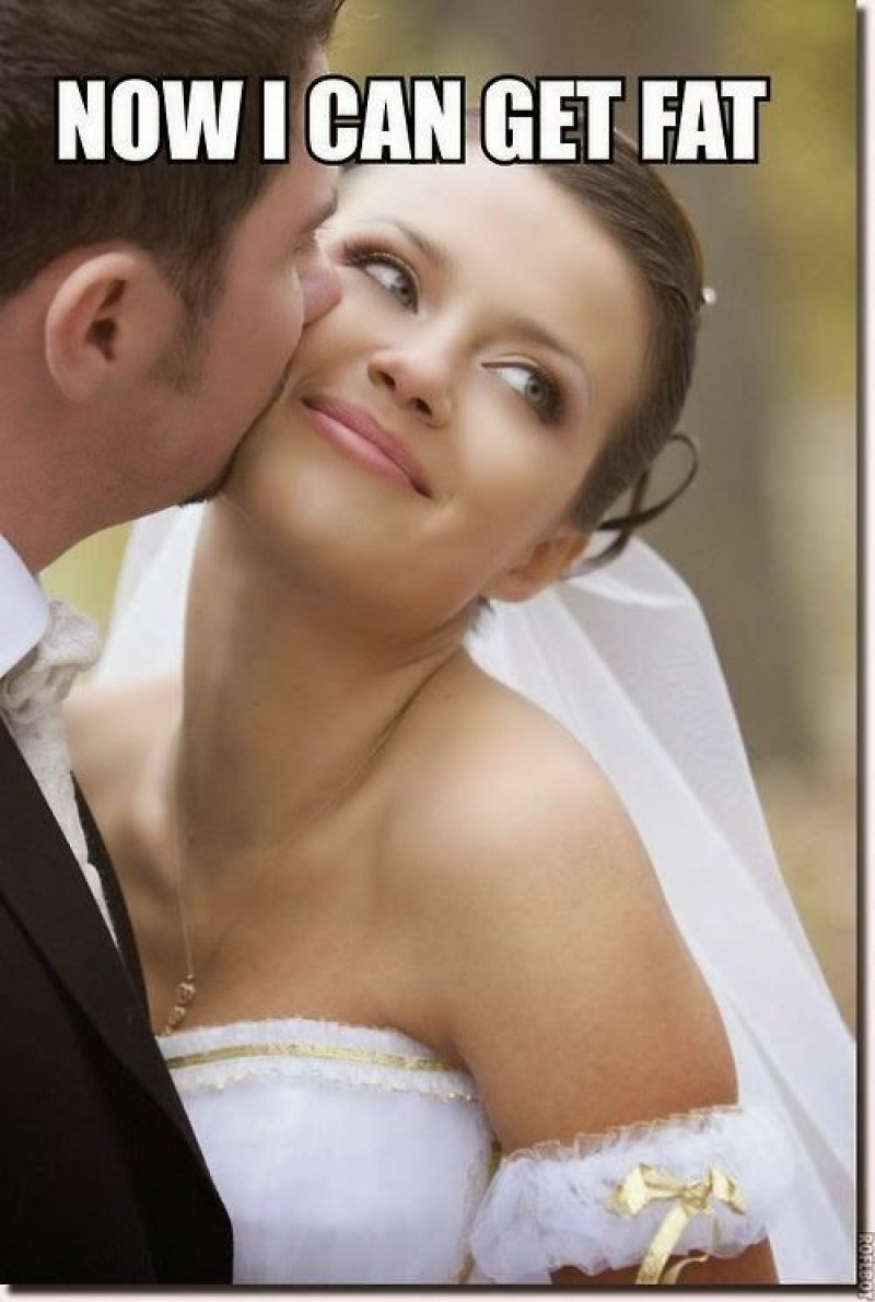Now I Can Get Fat! -12 Hilarious Marriage Memes That Will Make You Lol