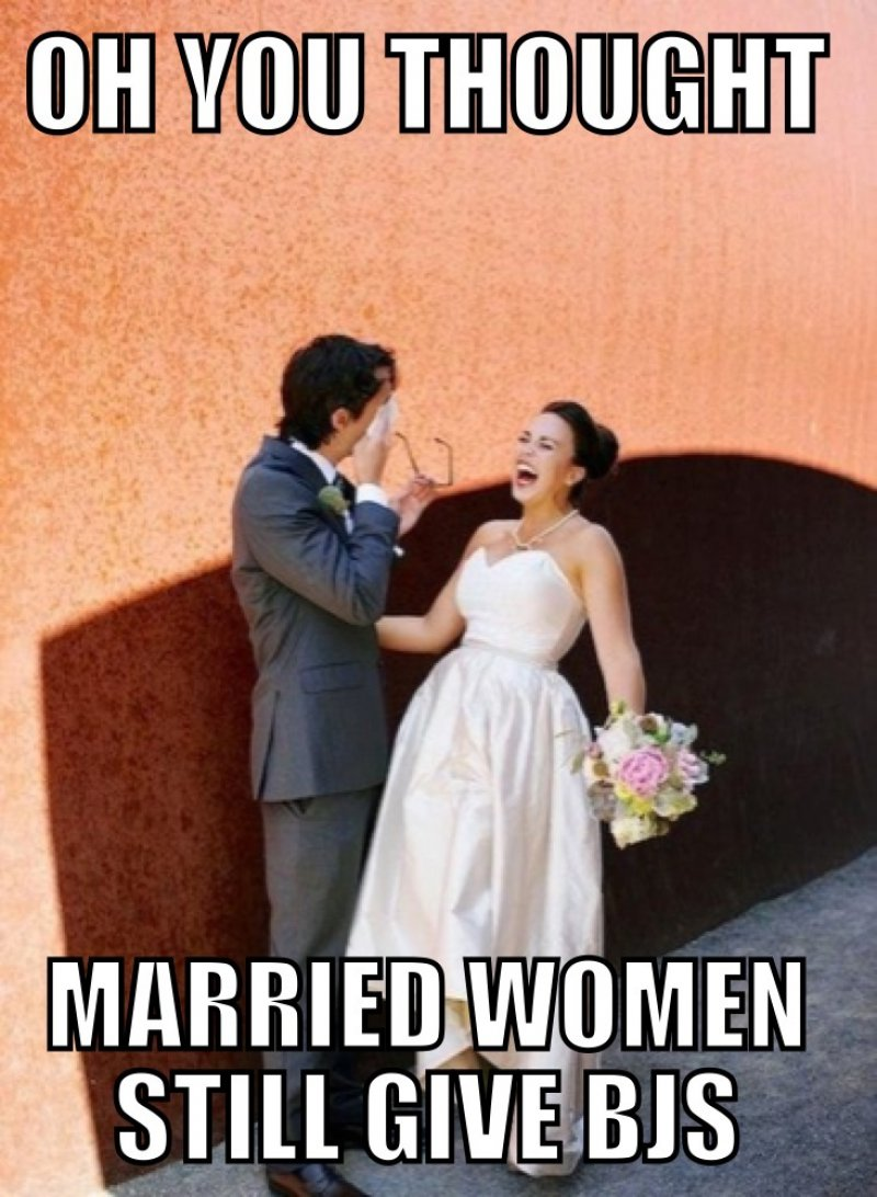 Oh, You Thought Married Women Still Give BJs?-12 Funny Blowjob Memes Will Make You Lol
