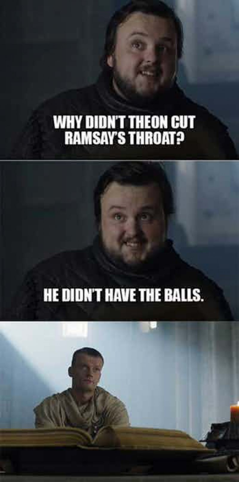 Oh Sam, No!-12 Funny Game Of Thrones Memes That Are On Point