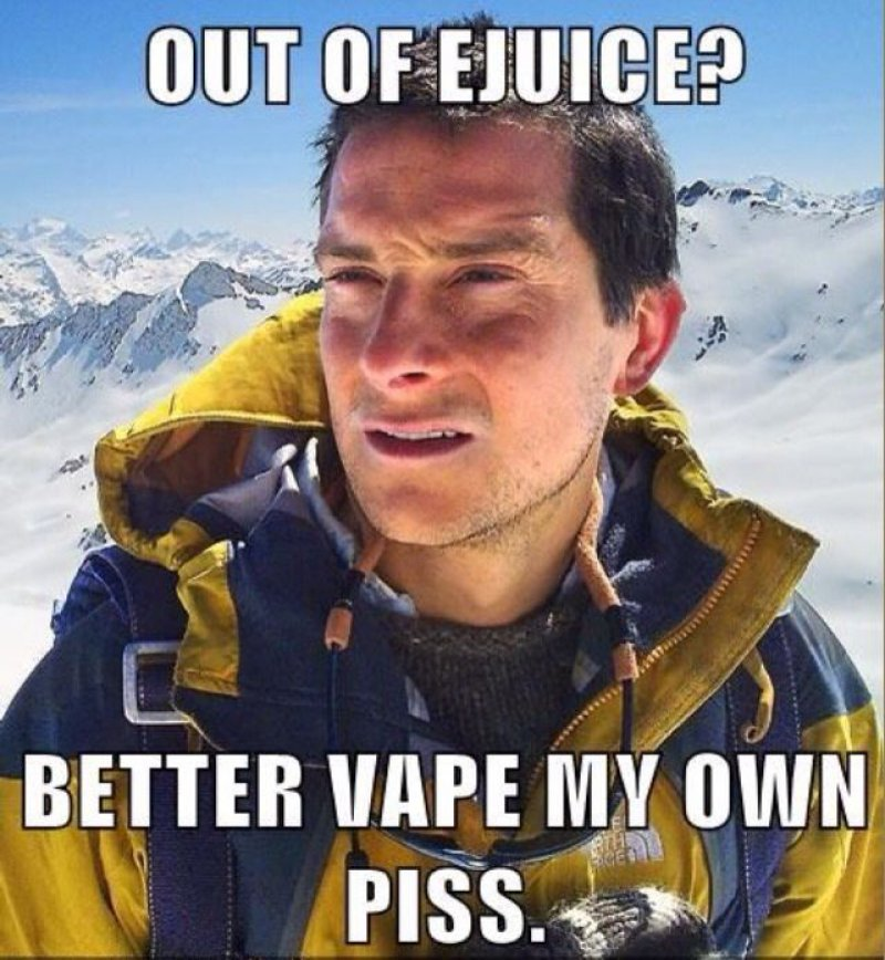 Out Of E-Juice?-12 Hilarious Vape Memes That Will Make Lol