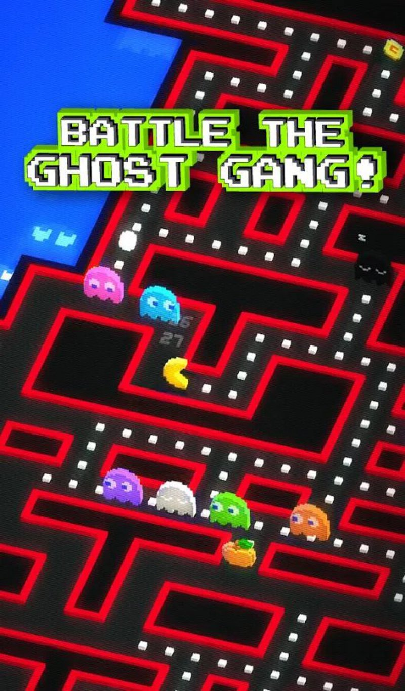 PAC-MAN 256 - ENDLESS MAZE-12 Best Pixel Games For Android And IOS