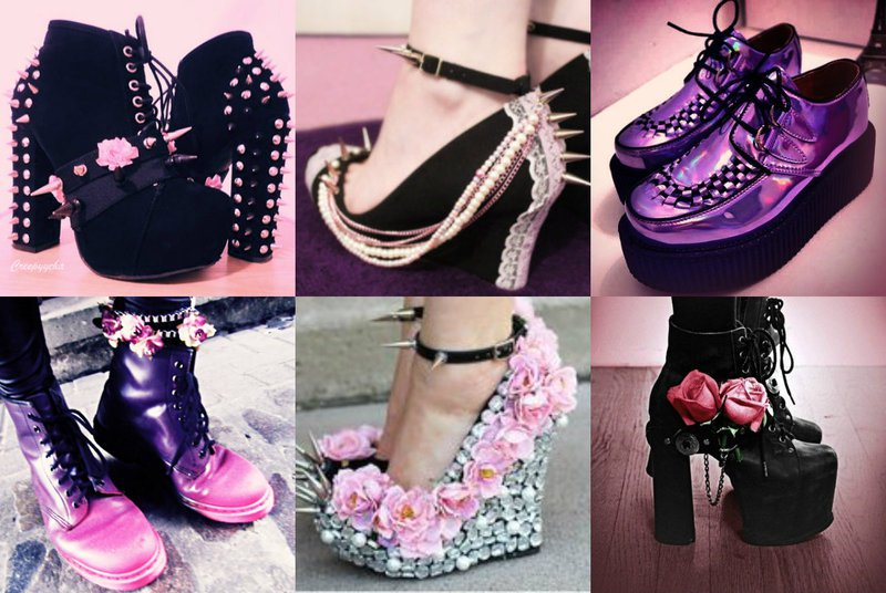 Pastel Goth Footwear-12 Ways To Become A Pastel Goth