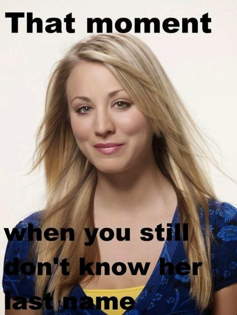 Penny's last name-8 Things You Don't Know About Penny AKA Kaley Cuoco