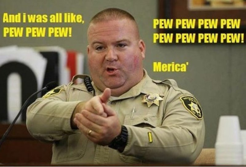 Pew, Pew, Pew!-12 Funny Murica Memes That Will Make You Lol