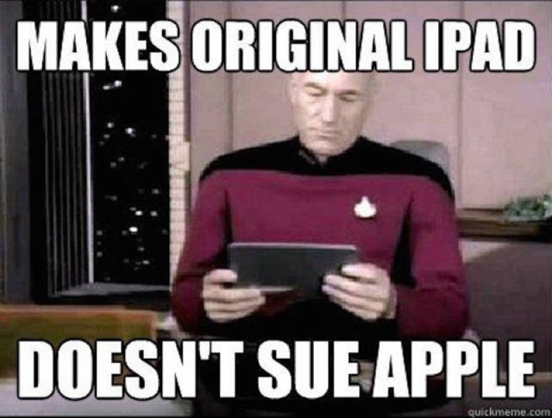 Piccard Makes Original IPad!-12 Funny Star Trek Memes That Are Make Your Day