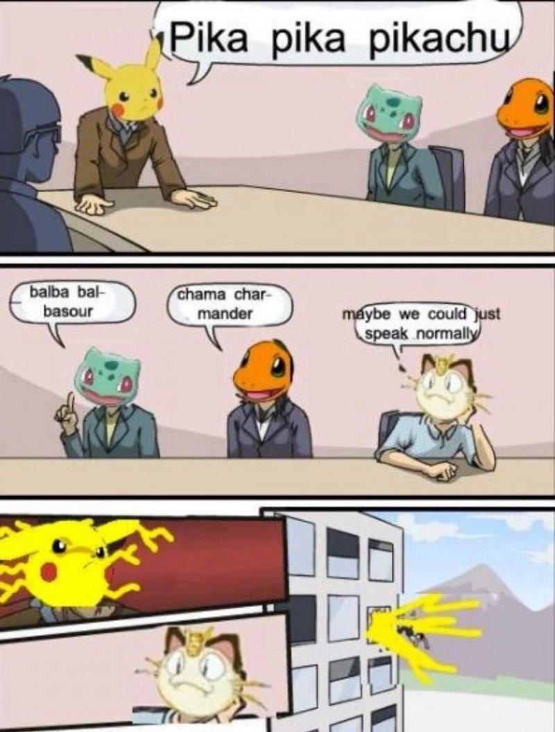 Pika Pika Pikachu!-12 Hilarious Pokémon Memes That Will Make Your Day