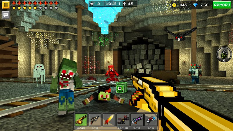 Pixel Gun 3D Pocket Edition-12 Best Pixel Games For Android And IOS
