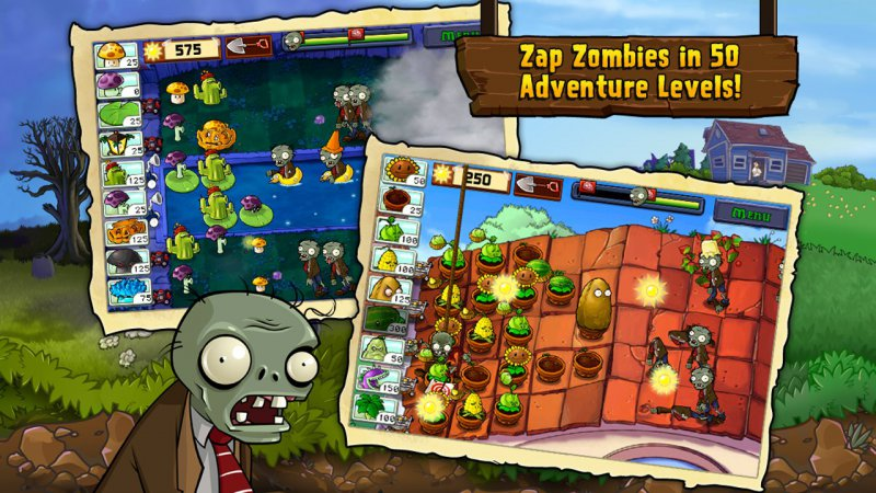 Plants Vs. Zombies-12 Best War Strategy Games For IOS And Android