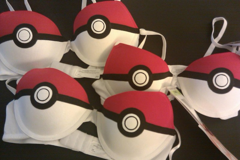 Pokeball Bra-12 Most Ridiculous Bras Ever Made
