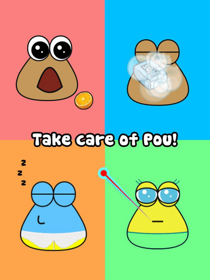 Pou-12 Best Virtual Pet Games For Mobile