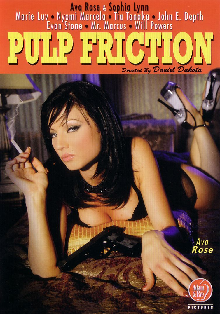 Pulp Friction-24 Funniest Porn Movie Parody Titles