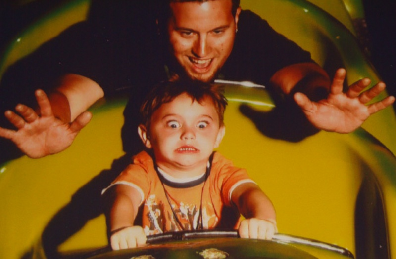 Pure Terror-12 Funniest Rollercoaster Pictures