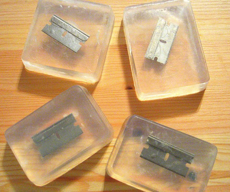 Razor Blade Soap-12 Hilarious And Creative Soap Bars