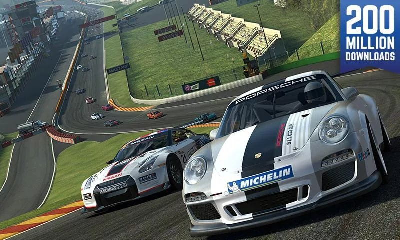 Real Racing 3-12 Best Car Racing Games For Mobile