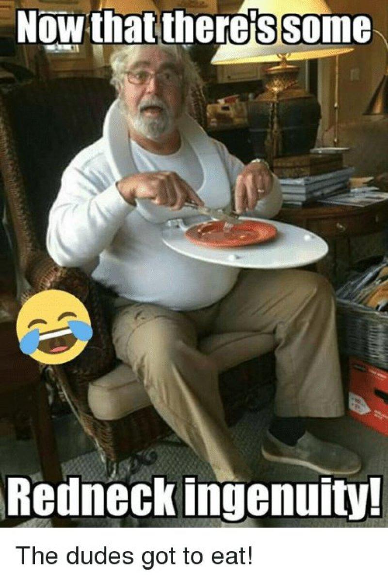 Redneck Ingenuity-12 Funny Redneck Memes That Will Make You Lol