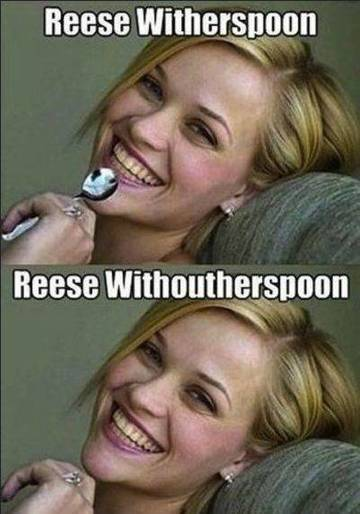 Reese Witherspoon-15 Celebrity Name Puns That Are Hilarious