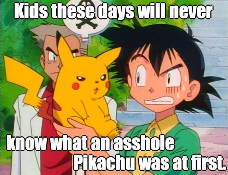 Remember How Pikachu Behaved When It First Met Ash?-12 Hilarious Pokémon Memes That Will Make Your Day