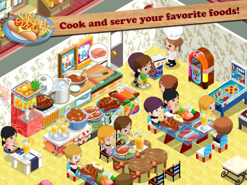 Restaurant Story-12 Best Restaurant Games For IOS And Android