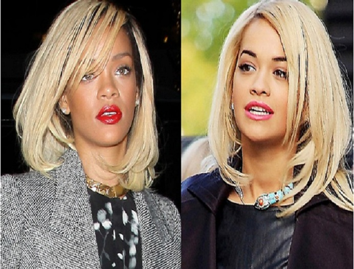 Rihanna & Rita Ora-15 Surprising Celebrity Lookalikes That You Haven't Noticed