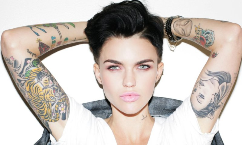Ruby Rose-12 Hottest Lesbians From Around The World