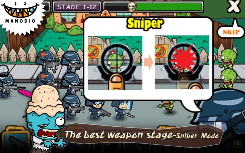 SWAT And Zombies-12 Best Zombie Survival Games For IOS And Android