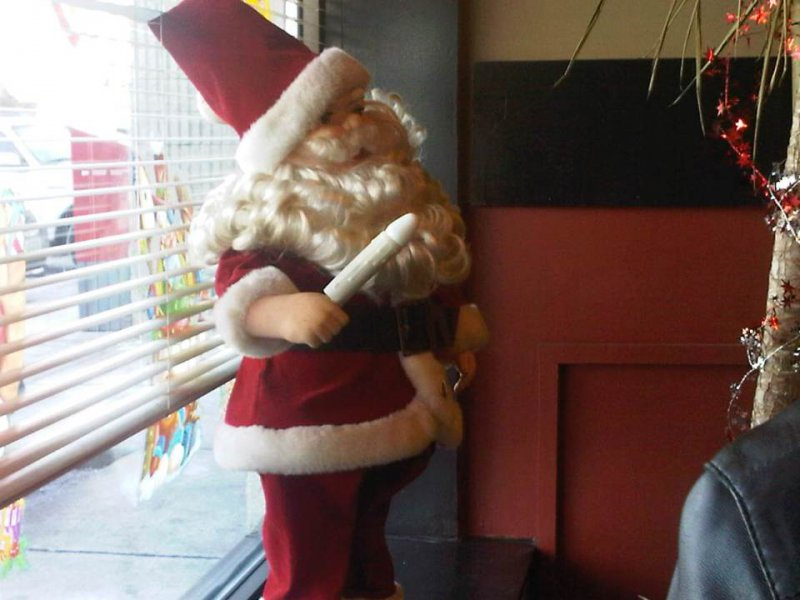 Santa Claus Has Something Weird In His Hand!-12 Worst Christmas Decorations Ever