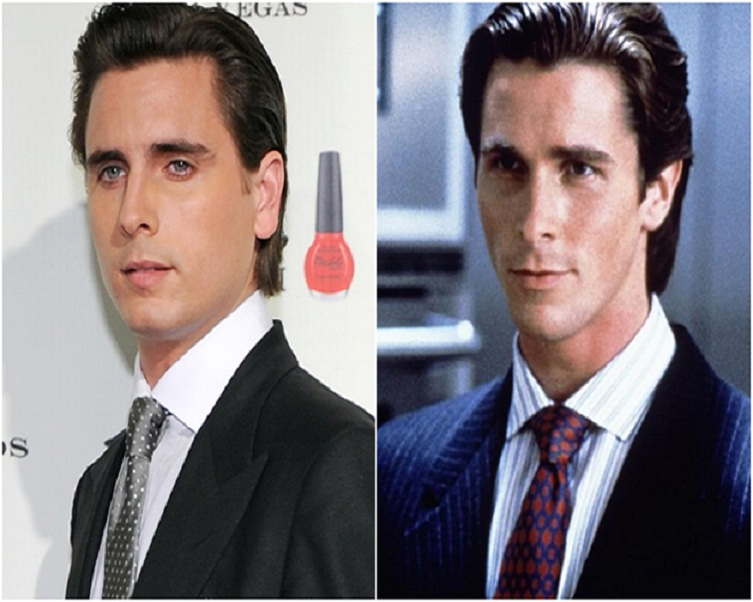 Scott Disick And Christian Bale-15 Surprising Celebrity Lookalikes That You Haven't Noticed
