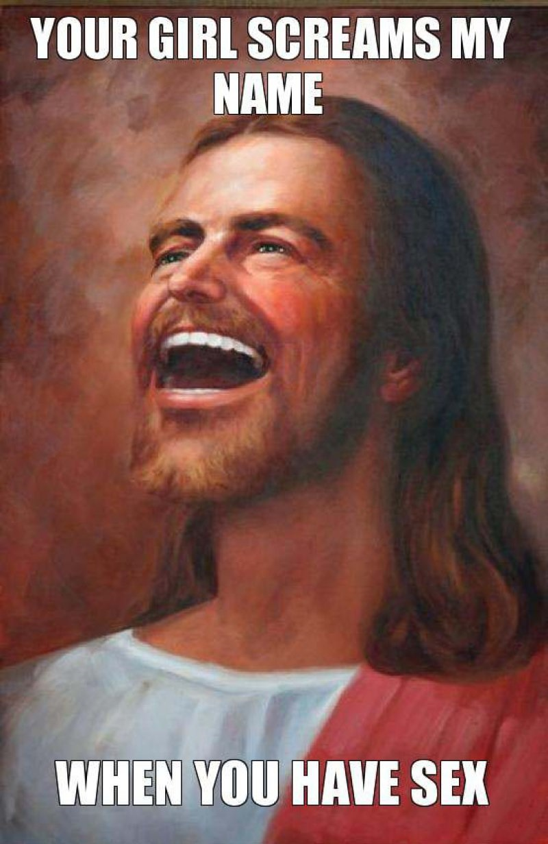 Screaming God's Name In Bed! -12 Funny Jesus Memes That Will Make You Lol