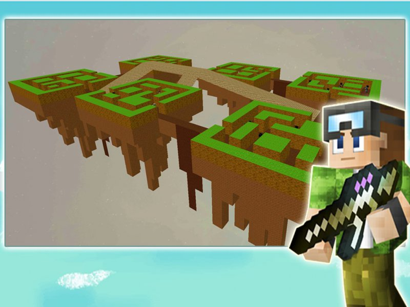 Skyblock Island Survival Games-12 Best Pixel Games For Android And IOS